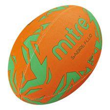 Rugbybal Mitre Sabre Fluo - Oranje/Groen