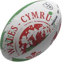 Rugbybal Wales