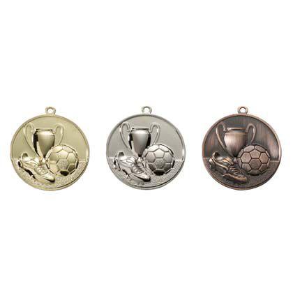 Medaille E4003 - Voetbal