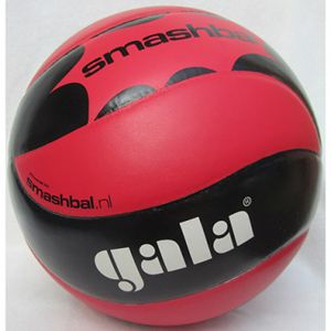 Volleybal Gala Smashbal Starter 230 gram - Rood/Zwart
