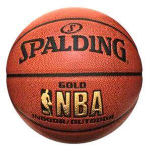 Basketbal Spalding NBA GOLD IN-OUTDOOR