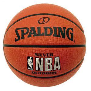 Basketbal Spalding NBA Silver Rubber 83014