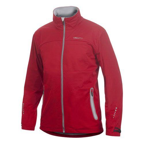 Craft Heren Cerro Torre Stretch Jacket - Rood
