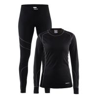 Craft Dames Baselayer Set - Zwart
