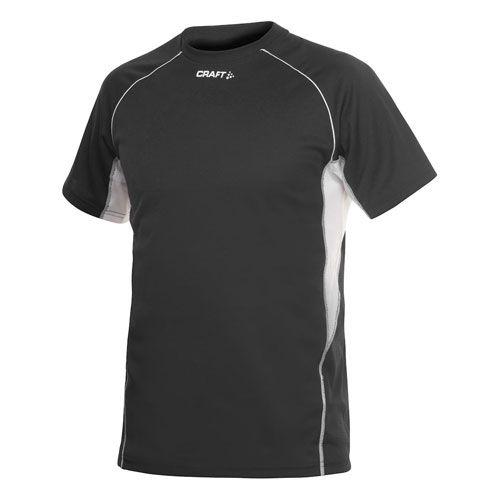 Craft Heren Hardloopshirt T&F Tee - Zwart