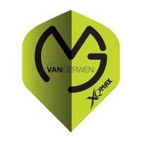Dart Flights Michael van Gerwen Logo Groen