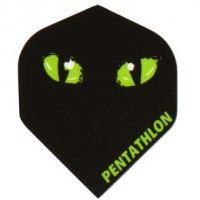 Dart Flight Pentathlon Black Cat