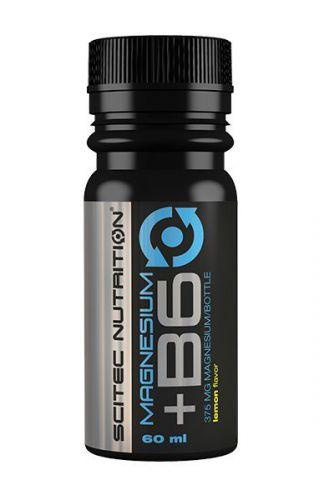 Scitec Nutrition Magnesium + Vitamin B6 - 12 x 60 ml - Lemon